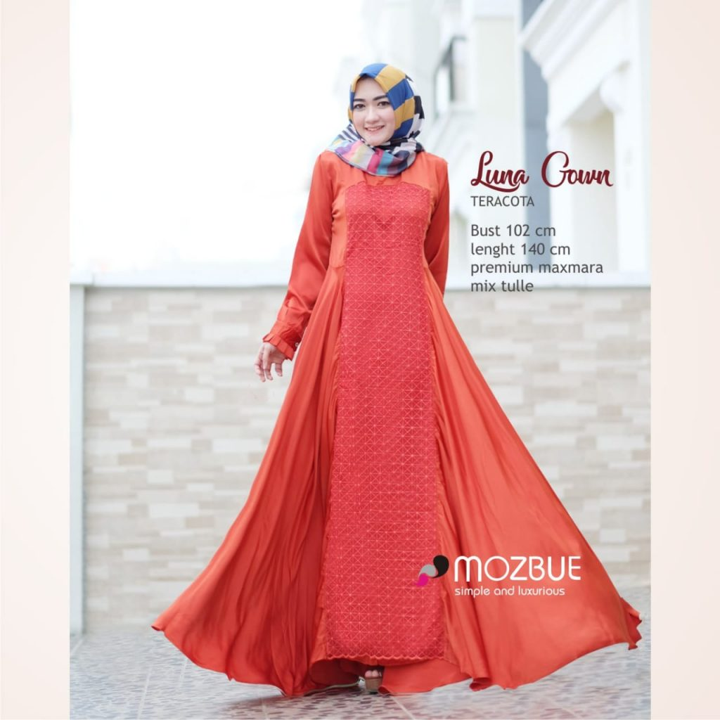 gamis luna gown