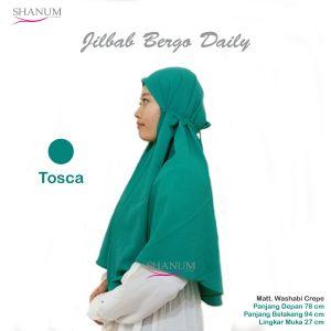 jual Jilbab bergo daily shanum tosca