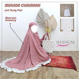 Jual Mukena Chasanah Dusty Pink