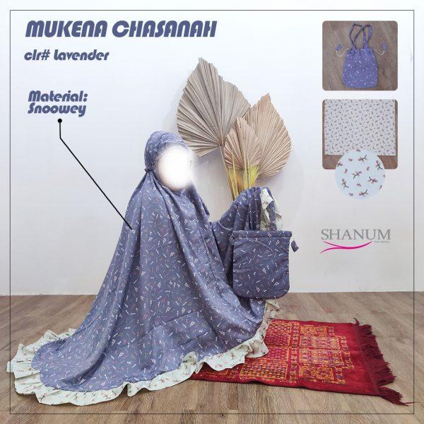 Jual Mukena Chasanah lavender