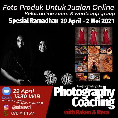 Online Kelas Foto Produk Spesial Ramadhan