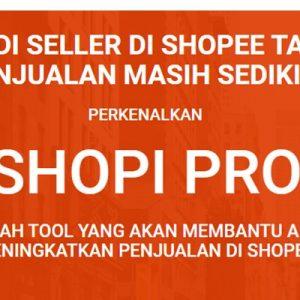 Banjir order dengan Shope Pro